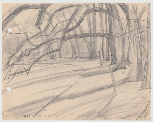 , 'Weg im Park, Weimar,' 1913, Henze & Ketterer