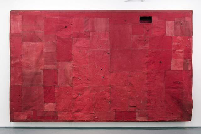 , 'Flat Painting Bodfari 14/15 Cadmium Red Deep,' 2015, annex14