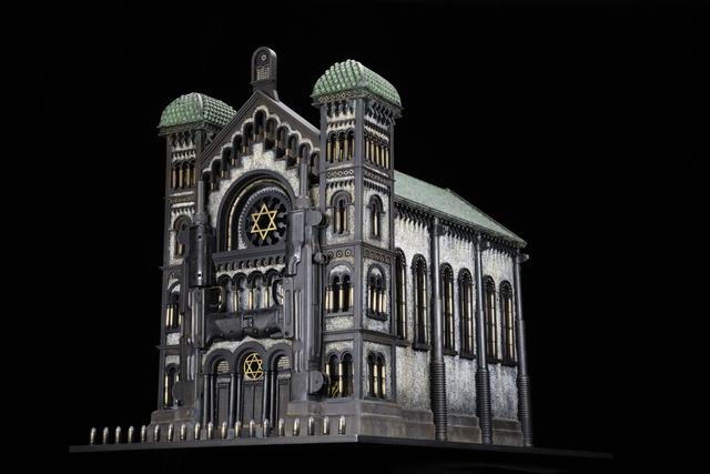 , 'Synagogue V (After the Great Synagogue of Brussels),' 2012, Forum Gallery