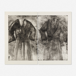 2 Robes (Fern's, Acid and Water) (diptych)