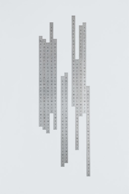 , 'Ponto de vista - da série Alfamétrica,' 2010-2014, Galería Vermelho