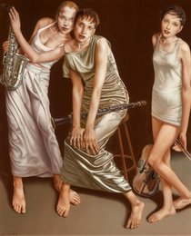 Lui Liu, 'Three Musicians,' 1999, Heritage Auctions: Modern & Contemporary Art