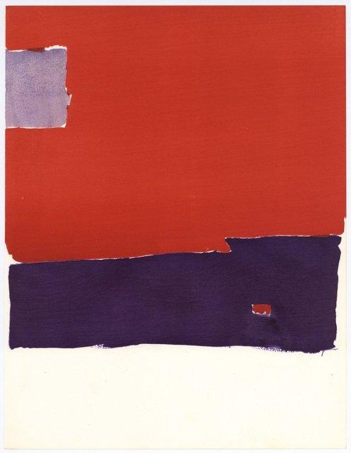 Nicolas de Staël, 'Untitled (Pochoir)', 1959, Artsnap