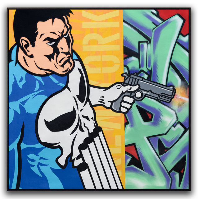 SEEN, 'Punisher', 2016, Dirtypilot.com/Hobbs Gallery
