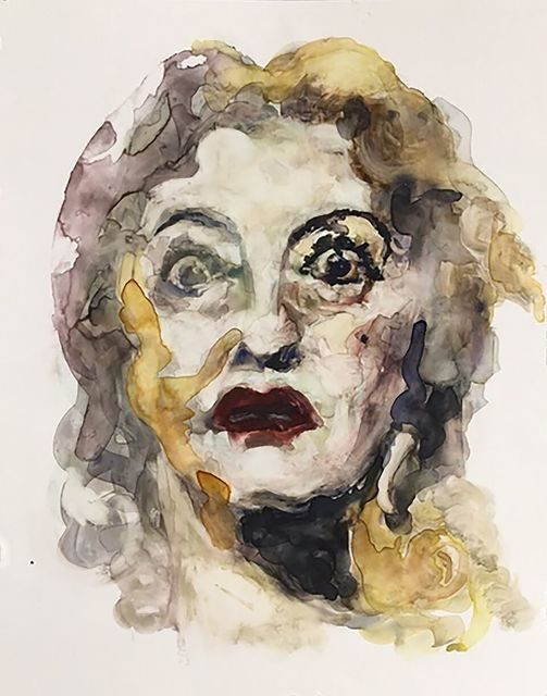 ", '""In this business, until you're known as a monster you're not a star."" -- Bette Davis,' 2017, Ro2 Art"