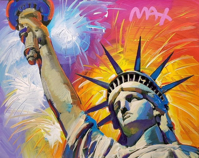 Peter Max, 'Statue of Liberty ', 2014, Off The Wall Gallery