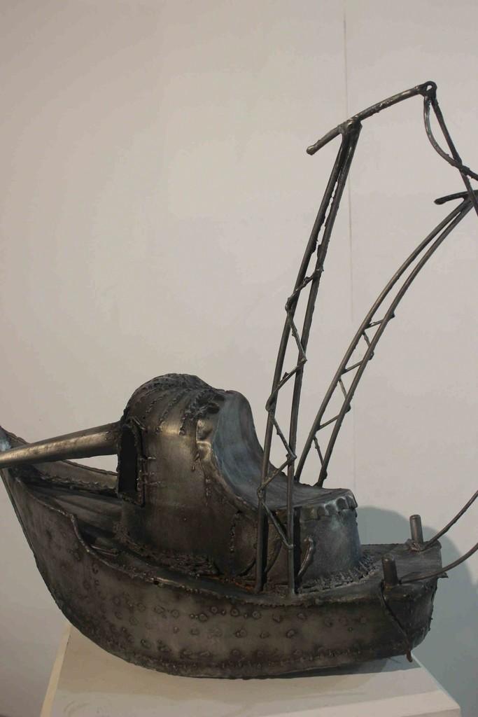 'Shrimp Boat' Steel by Adam Farrington