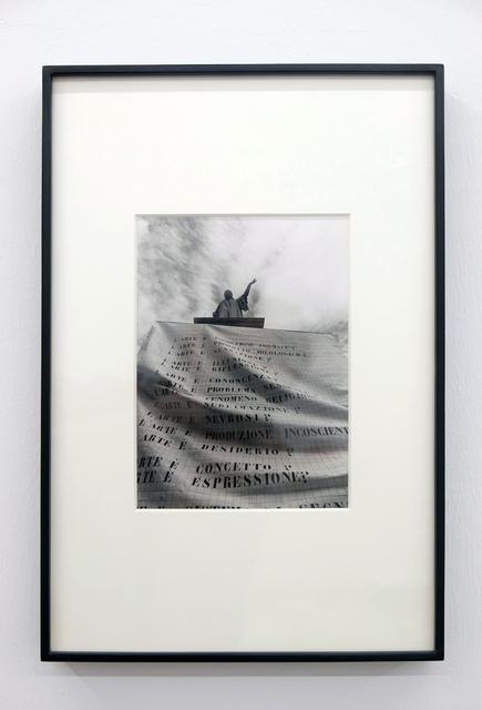 , 'Interrogations sur l'art. Italie (3), La main de Dante,' 1977, espaivisor - Galería Visor
