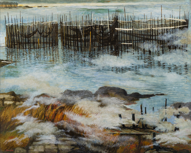 , 'Fish Weirs at Campobello,' , Childs Gallery