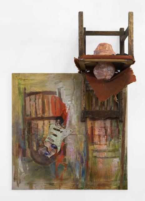 , 'Guitar Face,' 2019, Marianne Boesky Gallery