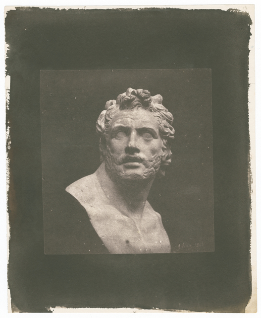 , 'Bust of Patroclus,' 1842, Hans P Kraus Jr. Fine Photographs