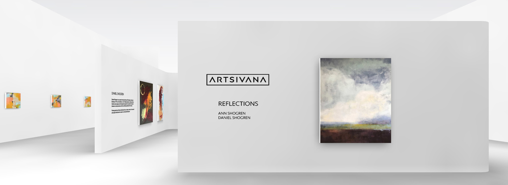 ARTSIVANA Featured Artists, ANN SHOGREN and DANIEL SHOGREN shine in this collaborative virtual reality fine art exhibition.