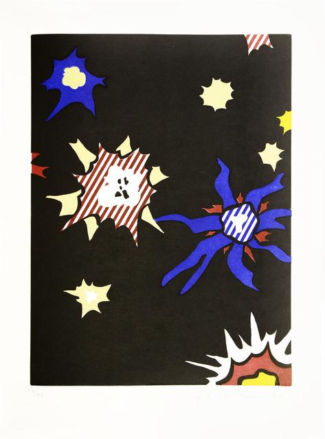 Roy Lichtenstein, 'Hüm-Bum!, from La Nouvelle Chute de l'Amérique', 1992, Print, Etching with Aquatint, Shapero Modern