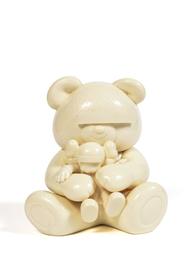Undercover Bear Companion (White)