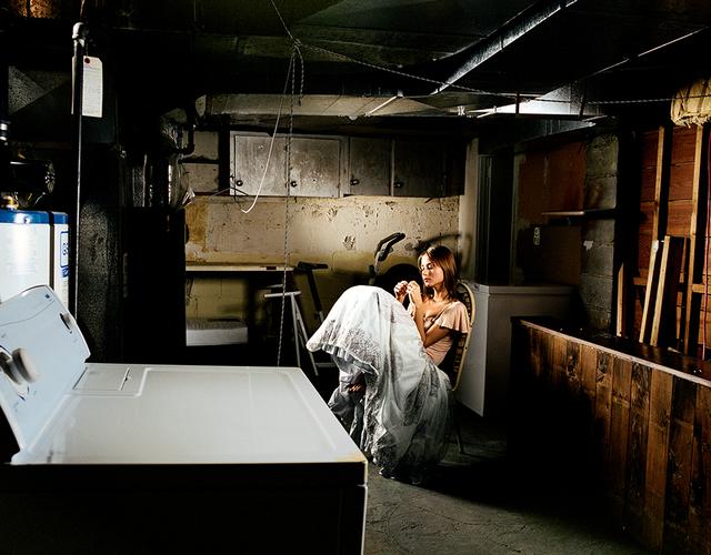 David Drebin, 'Girl And Washer', 2001, Isabella Garrucho Fine Art