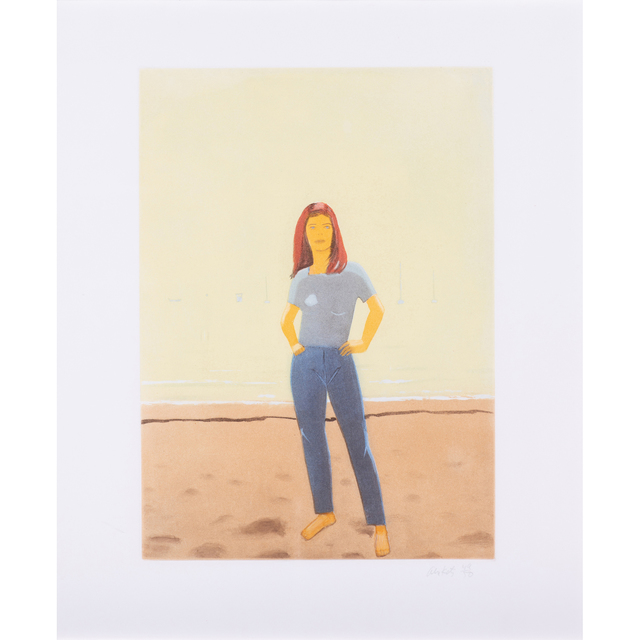 Alex Katz, 'Harbor #10', 2006, PIASA