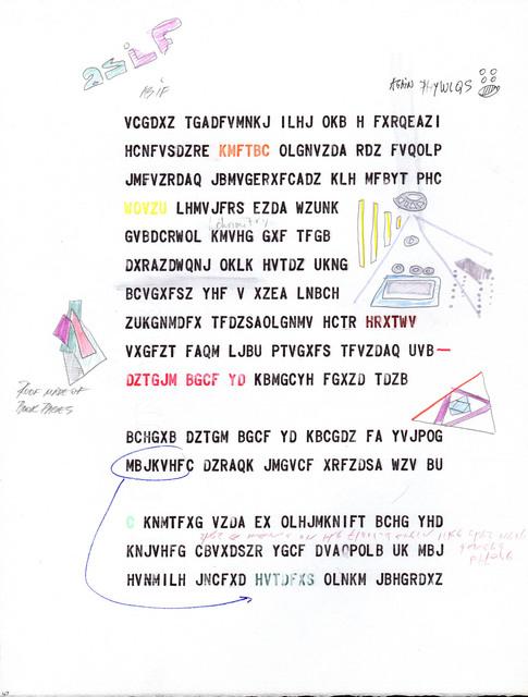, 'BBB (Beatrice's Black Book) 47,' 1985, Henrique Faria Fine Art