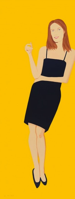 Alex Katz, 'Black Dress Portfolio - Sharon', 2015, Gregg Shienbaum Fine Art
