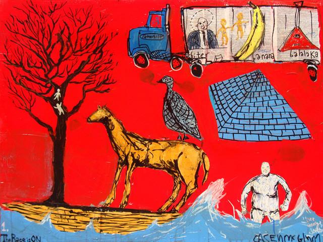 Casey McGlynn, 'The Race is On', 2012, Bau-Xi Gallery