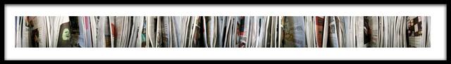 Barbara Astman, 'greenface, Newspaper series', 2006, Corkin Gallery