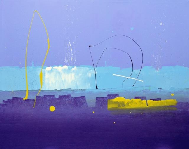 Anthony Hunter, '61 Deep', 2018, Painting, Gloss on Canvas, JoAnne Artman Gallery