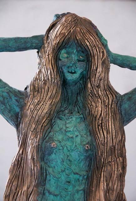Allison Schulnik, 'Centaurette 1', 2017, Mark Moore Fine Art