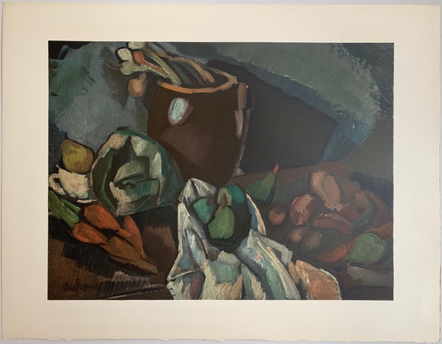 Charles Dufresne, 'Nature Morte Aux Fruits', 1919 / Printed 1971, Print, Lithographic poster on Arches vellum, Puccio Fine Art