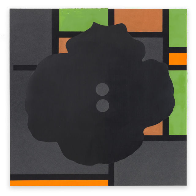 Donald Sultan, 'Button Down Modernism Black June 12 2016', 2016, Serge Sorokko Gallery