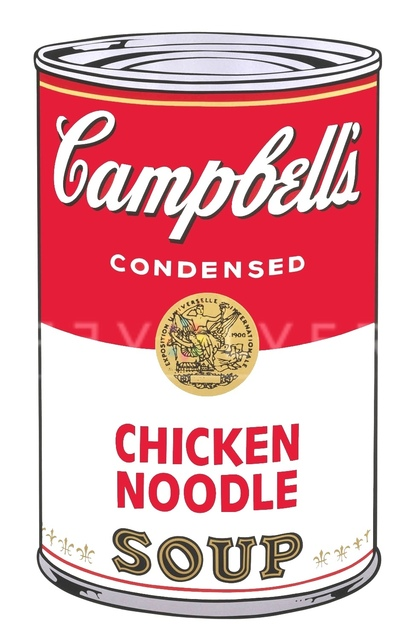 Andy Warhol, 'Campbell's Soup I: Chicken Noodle (FS II.45)', 1968, Print, Screenprint on Paper, Revolver Gallery
