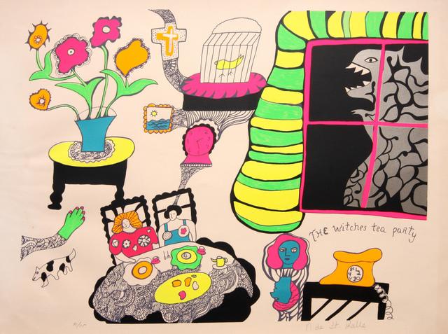 Niki de Saint Phalle, 'The Witch's Tea Party', 1972, Denis Bloch Fine Art
