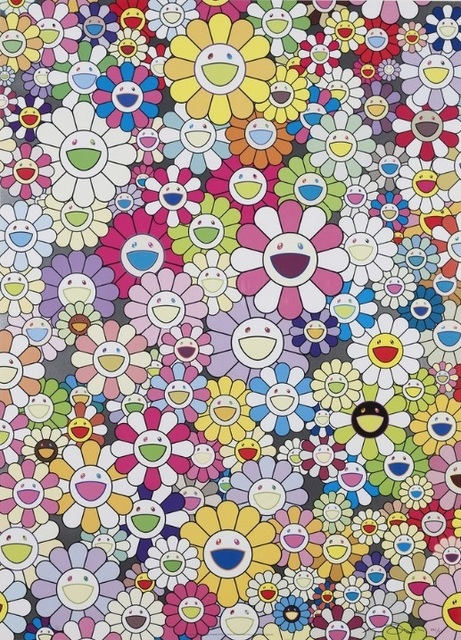 Takashi Murakami, 'An Homage to Yves Klein Multicolor B', 2012, Vogtle Contemporary
