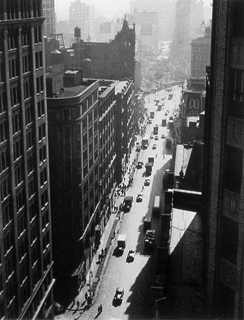 , 'Broadway Toward Union Square,' ca. 1947, Tibor de Nagy