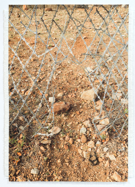 , 'Hole in Zim / SA Border Fence,' 2017, WHATIFTHEWORLD