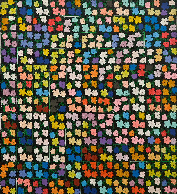 "Richard Pettibone, 'Andy Warhol, ""Flowers"", 1964 (132 times)', 1971, Collectors Contemporary"