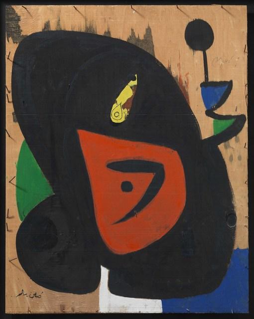Joan Miró, 'Figure and bird', 1977-1979, Galeria Mayoral