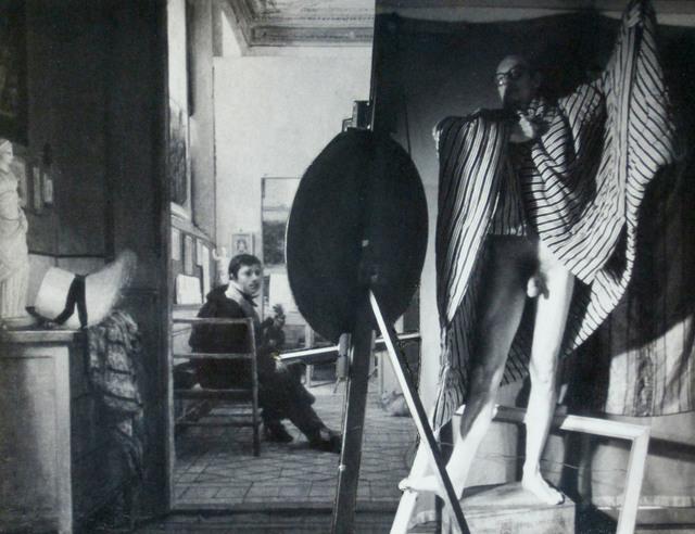 , 'Modeling In Ingres Studio,' 1985, Tibor de Nagy