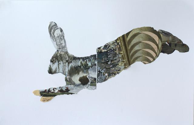 , 'D'un siècle à l'autre - Lièvre,' 2014, Galerie BAC