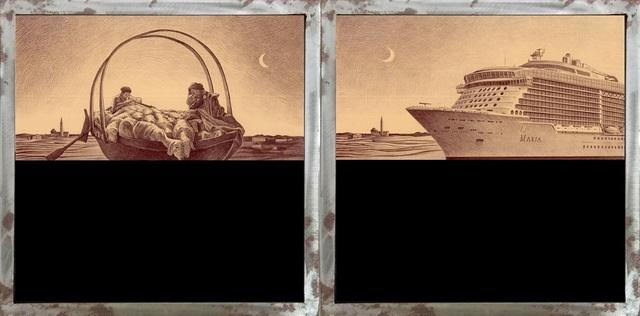 , 'Ave Maria a trasbordo/Ave Maria in crociera (Ave Maria in transfer/Ave Maria in cruise),' 2018, MLB Home Gallery