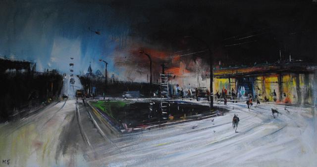 """, '""""The Road 2"""",' 2016, Krokin Gallery"""