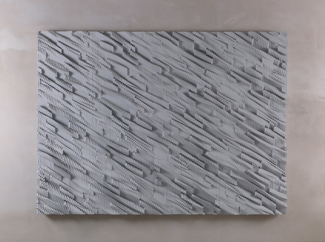 , 'Panel (Silver, Gray),' 2011, Loyal