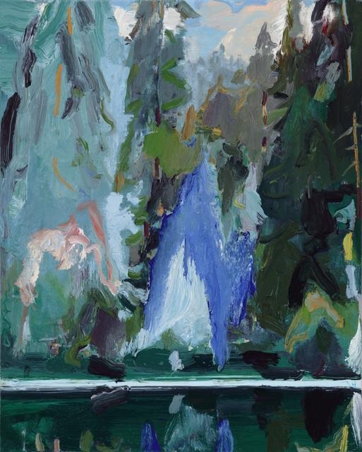 , 'Blue Appearance,' 2019, Tayloe Piggott Gallery