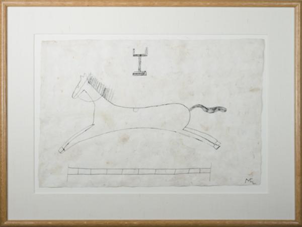, 'Jumping Horse ,' 1991, David Barnett Gallery