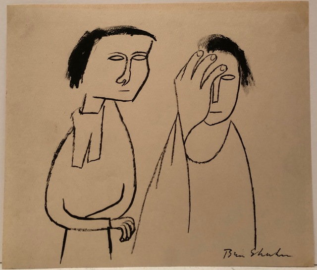 Ben Shahn, 'Mind in the Shadow ', n.d., DC Moore Gallery