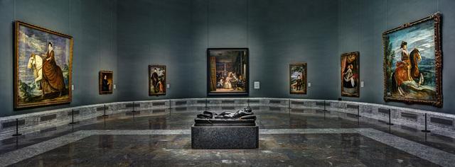 Christian Voigt, 'El Prado central gallery', 2015, Lucia Mendoza