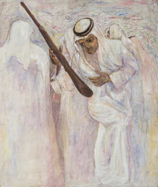 , 'Imagining the Ardah Dance / التحيل (الرقصة الشعبية),' 1982, al markhiya gallery