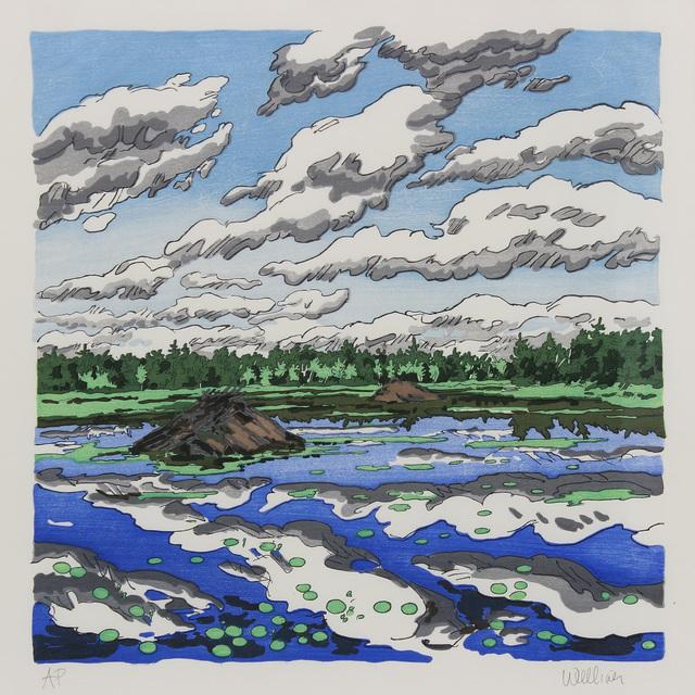 , 'Big Flowage,' 1979, Alexandre Gallery