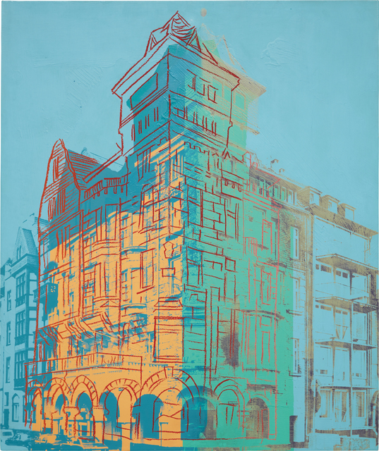 Andy Warhol, 'Oberkassel 1', 1981, Painting, Acrylic with diamond dust on canvas, Phillips