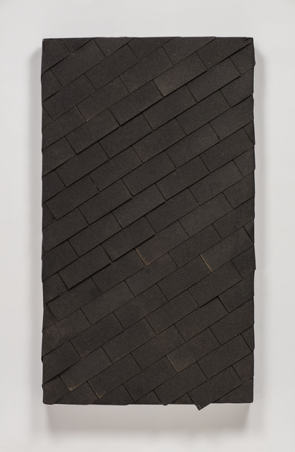 , 'watertight diagonal shingle,' 2015, Regen Projects