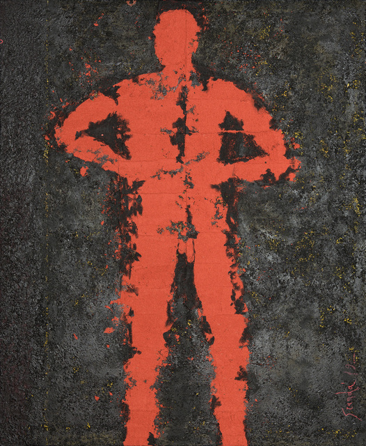 , 'Personaje Perforado,' N/A, Galeria Oscar Roman