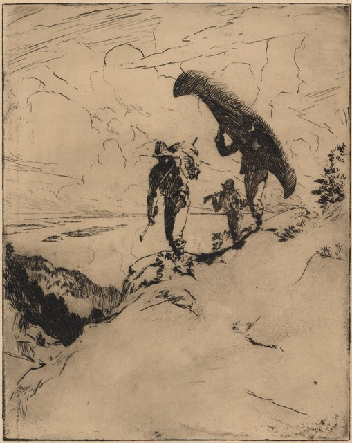 Frank Weston Benson, 'The High Carry.', 1915, Print, Etching,, The Old Print Shop, Inc.